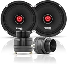 "$169 » DS18 Pair of PRO-X6.4BM 6.5"" Midrange Speakers + Pair of PRO-TW820 Super Tweeter - Midrange/Tweeter Component Set Combo - ..."