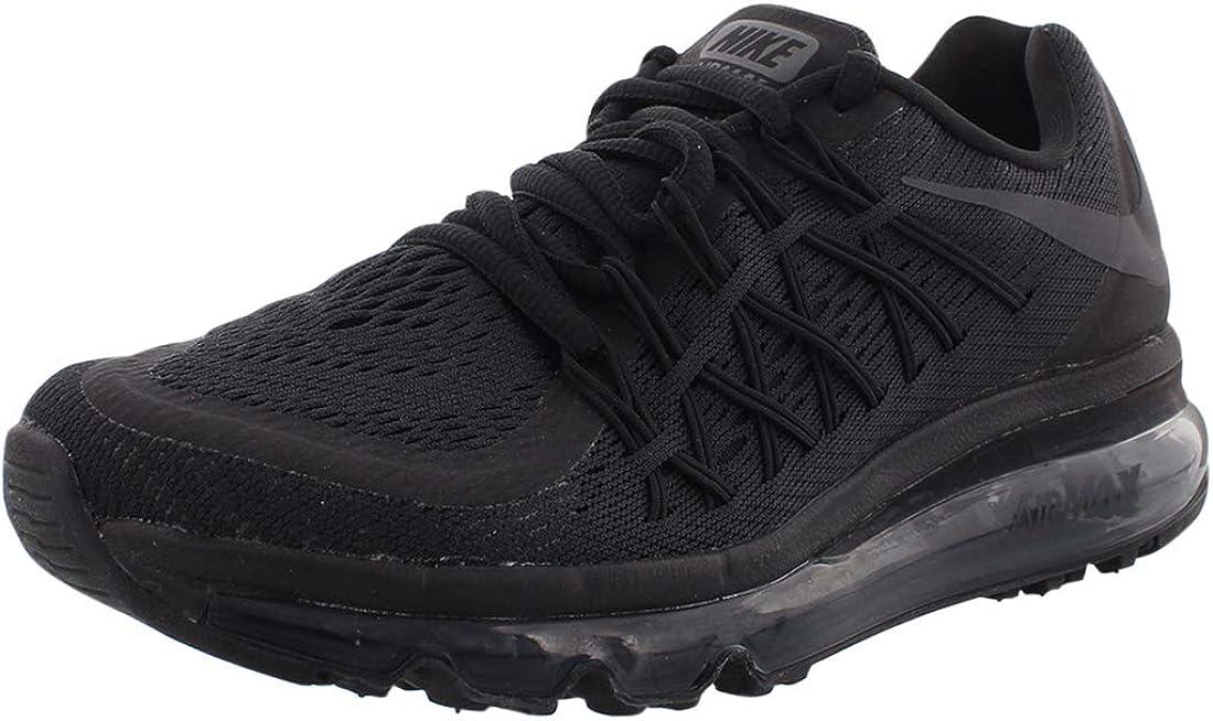 Nike Boys' Big Kids AIR MAX 2015 Casual Shoes Black CD9584-001 4Y