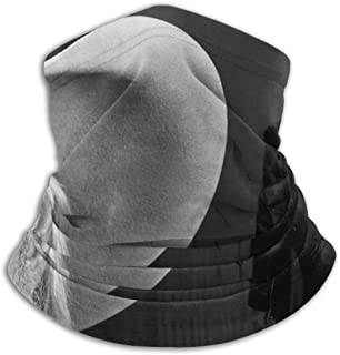 KkdsKkds The Charlie Daniels Scarf Neck Face Warmer Gaiter Headwear Face Scarf & for Womens Mens Black