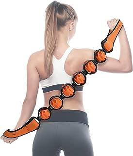 Doeplex Muscle Roller Massage Strap for Back, Neck, Shoulders, Legs, 37.4