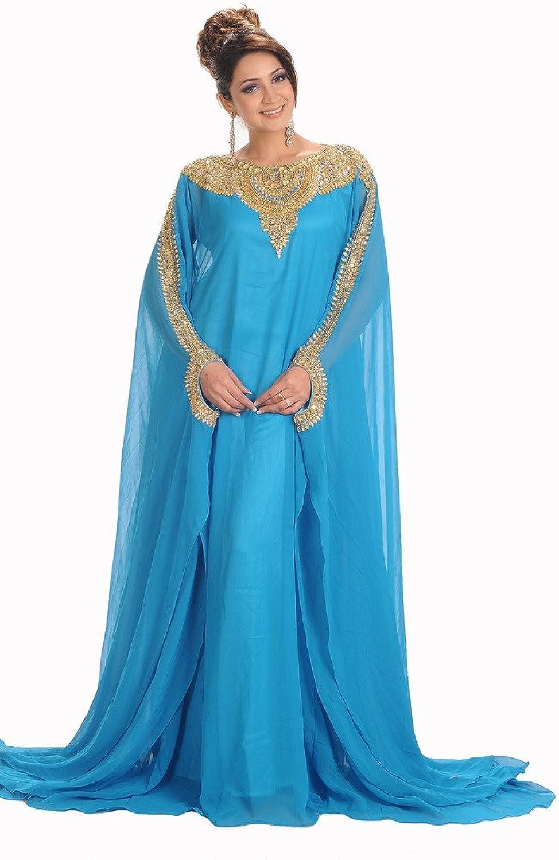 MaximCreation Women's Royal Farasha Kaftan Abaya Jilbab