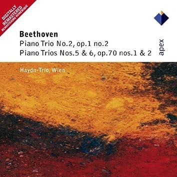 Beethoven : Piano Trios Nos 2, 5 & 6  -  Apex