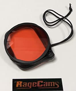 Red Filter Underwater Color Correction Press Fit Tether for MPK-UWH1 Sony FDR-X3000 AS300 AS50 Waterproof Dive Housing