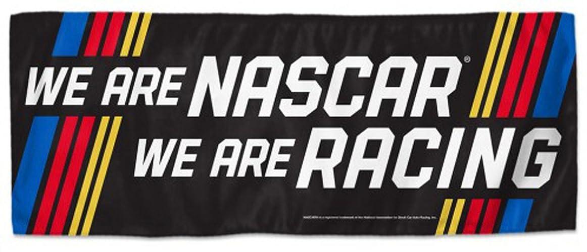 買うハイキングみなすNASCAR We Are Nascar We Are Racing 12?x 30インチ2?Sided冷却タオル