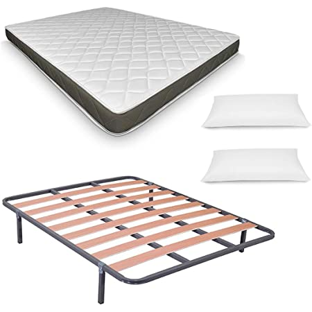 Pack Low Cost Descanso Completo 135X190 (colchon + somier + ...