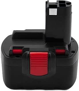 Creabest New 3500mAh Ni-MH BAT038 Battery Compatible with 14.4V Bosch Battery BAT140 BAT040 BAT041 BAT159 2607335275 2607335533 2607335534 2607335711 2607335465 2607335685 SR14.4V GDS14.4V GDR14.4V
