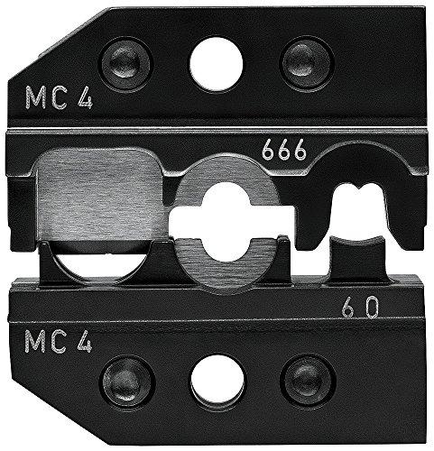 KNIPEX 97 49 66 6 Crimpeinsatz für Solar-Steckverbinder MC4 (Multi-Contact) schneiden - abisolieren - crimpen