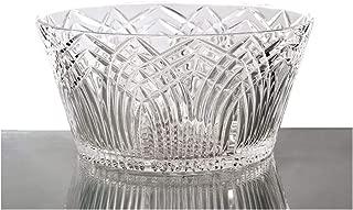 GAC Round Crystal Glass Serving Bowl, 8