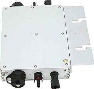 Waterproof Inverter, Micro Inverter, Durable Silver Aluminum Alloy Material Park for Garden Factory Home(220V)