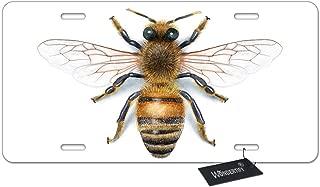 honey bee license plate