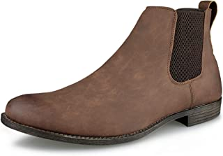 Hawkwell Men's Formal Dress Casual Chelsea Boot Pull Up Ankle Boots