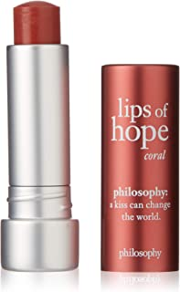 Philosophy Lips Of Hope Hydrating Lip Treatment, Coral, 4.1g