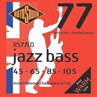 Rotosound RS77LD Jazz Bass Monel Electric Bass 4 String Set (45-105)