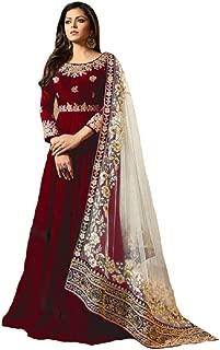 New Desiner Indian/Pakistani Ethnic wear Georgette Anarkali Gown LT