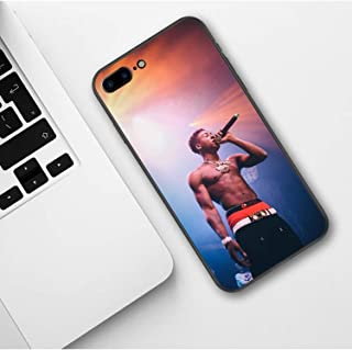 Half-Wrapped Case - Broke Again NBA Youngboy 38 Baby Rap Hip Hop Music Print Soft Silicone Phone Case for iPhone Xs Max XR X 5 5s SE 6 6s 7 8 Plus -1 PCs (2, for iPhone XR)