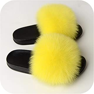 plage Women Fluffy Flat Home Slippers Female Furry Plush Slides Ladies Winter Warm Casual House Shoes Fashion Plus Size