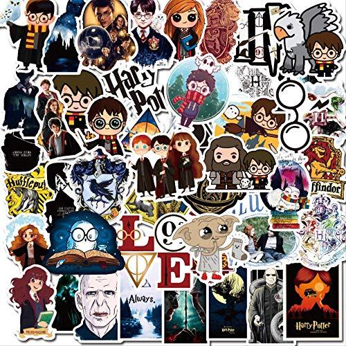 NOBRAND 50 Harry Potter Pegatinas Teléfono Móvil Taza Maleta Impermeable Graffiti Paquete De Pegatinas