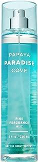 Bath and Body Works PAPAYA PARADISE COVE Fine Fragrance Mist 8 Fluid Ounce (2018 Edition)