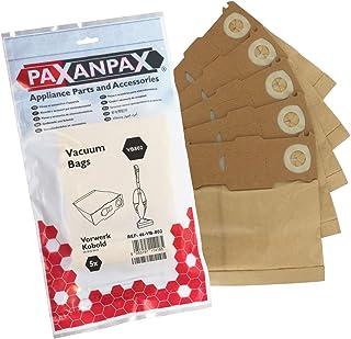 20 x Microfibre Cloth Hoover Bags for VORWERK KOBOLD VK136 FP136 Vacuum Cleaner