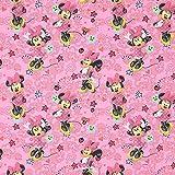 Fabulous Fabrics Baumwollstoff Disney Minnie Mouse 1 –