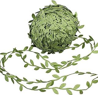 Supla 327 Ft Artificial Vines Fake Hanging Plants Leaves Ribbon Leaf Vine Trim Foliage..