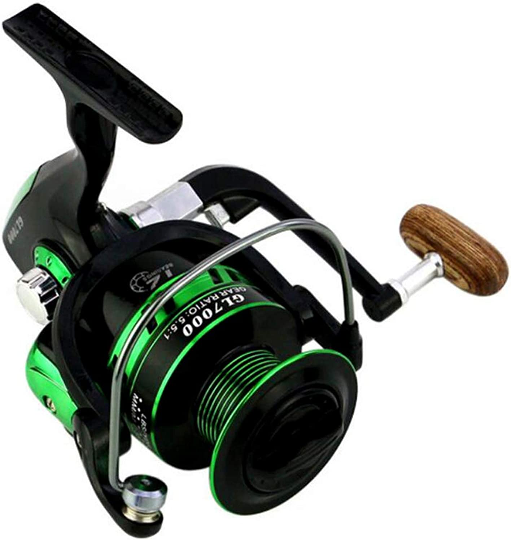 12BB Ball Bearings Spinning Fishing Reel GL 5.5 1 Right Left Metal Spool Fishing Tackle