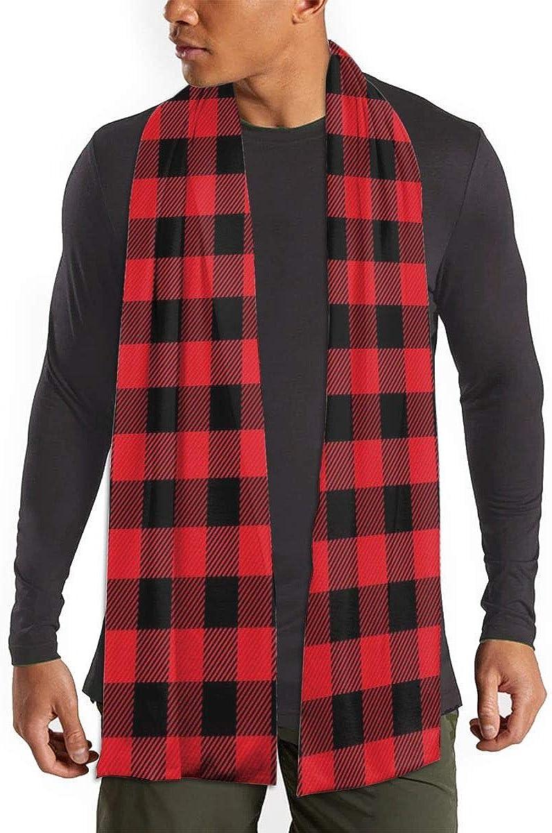 Buffalo Plaid Winter Fall Fashion Scarf Warm Long Soft Neckerchief For Men And Women