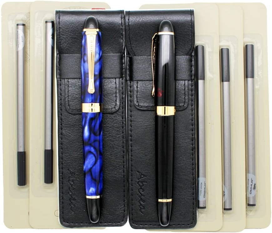 Abcsea 2 pieces Jinhao 450 rollerball black Today's only Austin Mall pens set poi medium