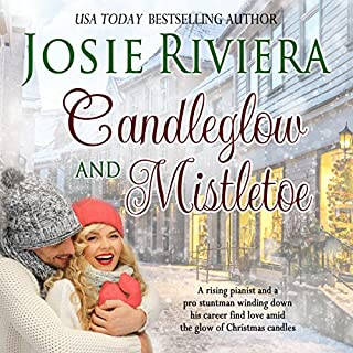 Candleglow and Mistletoe audiobook cover art