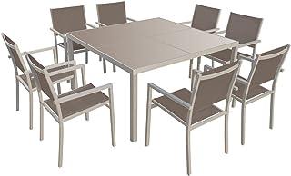 Amazon.fr : chaise jardin aluminium textilene