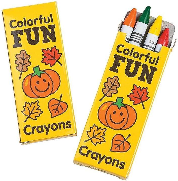 Ojis Factory outlet Ecart 24 Set Crayons Regular store Fall 4-Color