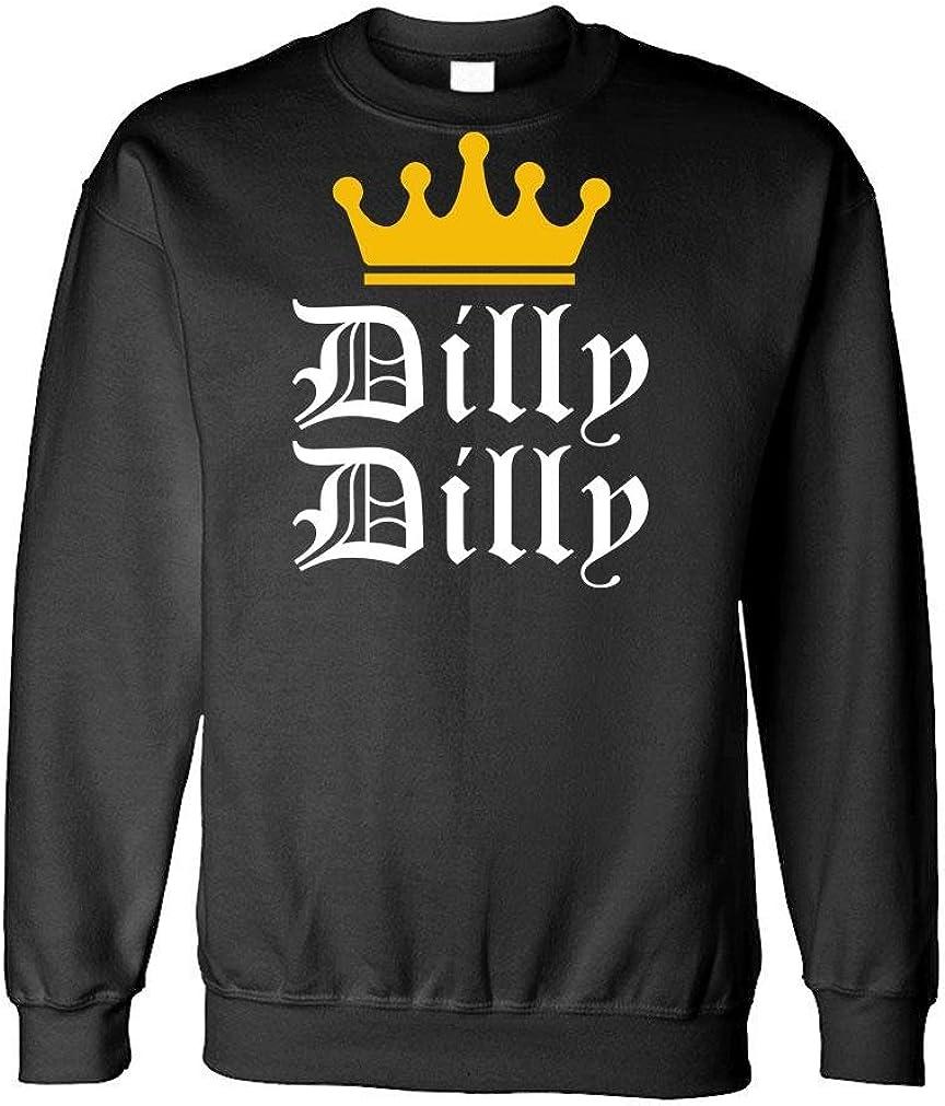 Dilly Dilly - Funny Beer King Light Joke - Fleece Sweatshirt