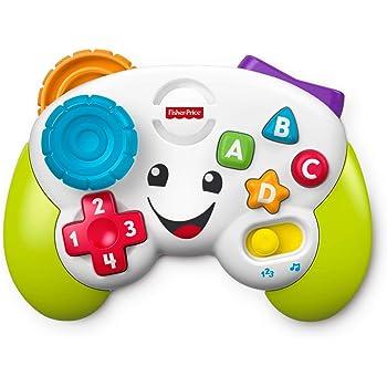 Fisher-Price Mi primer mando de consola, juguete de