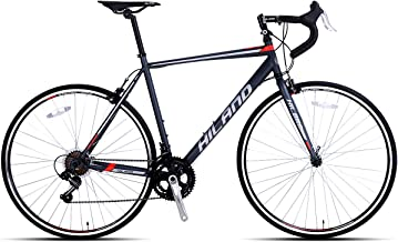 Hiland 700c Road Bike City Commuter Bicycle with 14 Speeds Drivetrain, Made in Taiwan 2 Colors