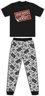 Mens Character Cotton Long Pyjamas Set Small to X-Large