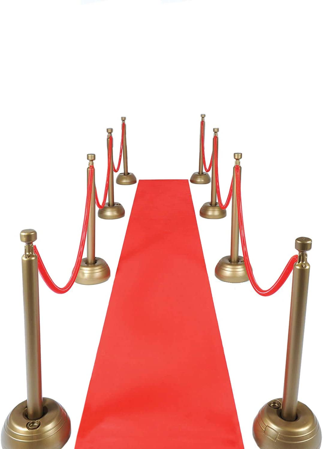 Red Carpet Aisle Runner 24 in × 15 ft Walkway Carpet Floor Aisle Runner for Indoor Outdoor Weddings Prom Theme Party Decorations
