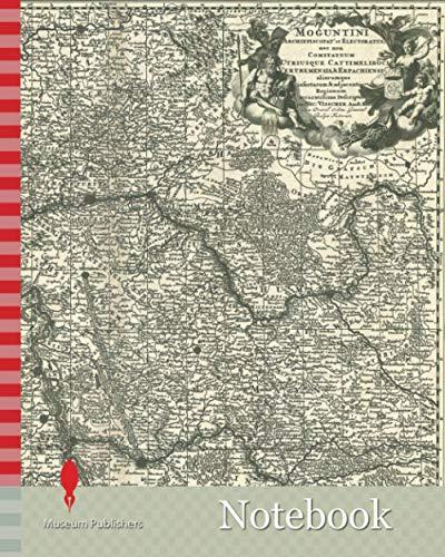Notebook: Map, Moguntini archiepiscopat' et electoratus, nec non comitatuum utriusque Cattimeliboci Verthemensis, & Erpachiensis aliarumque insertarum ... Jansz. Visscher (1618-1679), Copperplate