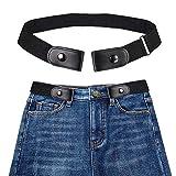 Womdee Cintura Donna Elastica Senza Fibbia - Cintura Elastica Invisibile (40 Pollici Regolabile), più Salute per La Vita Cintura Elastica Invisibile Senza Fibbia per Qualsiasi Taglia