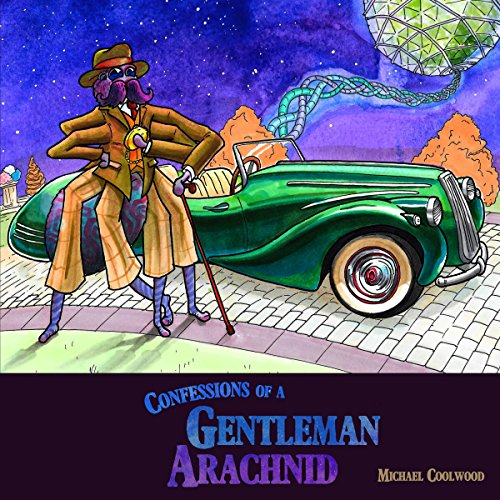 Confessions of a Gentleman Arachnid audiobook cover art