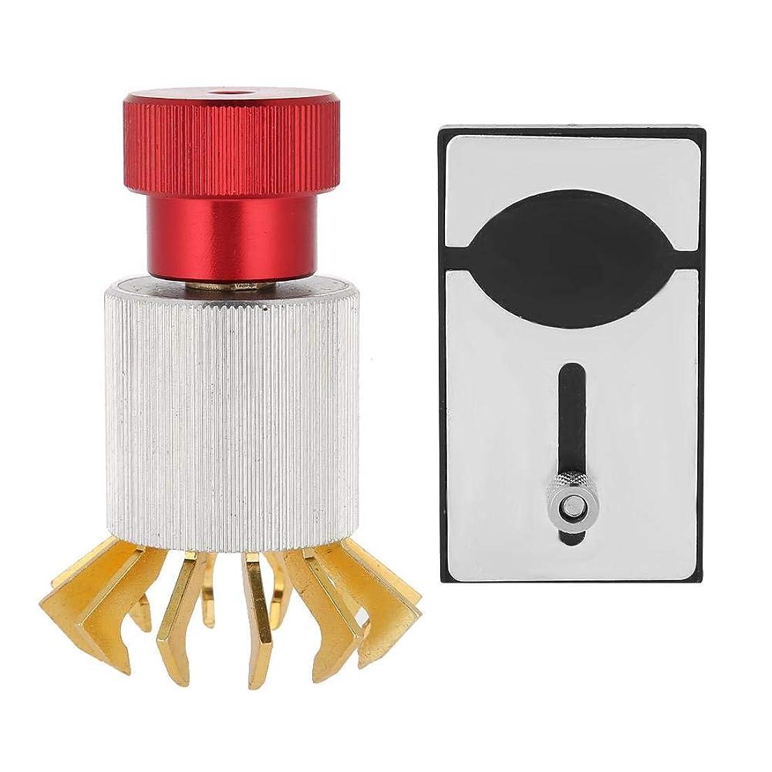 待つ着る適合Salmueウォッチ修理ツール表示クリスタルエレベーターボックス分解ボトルオープナーウォッチガラス交換修理ツール自分でバッテリーを交換