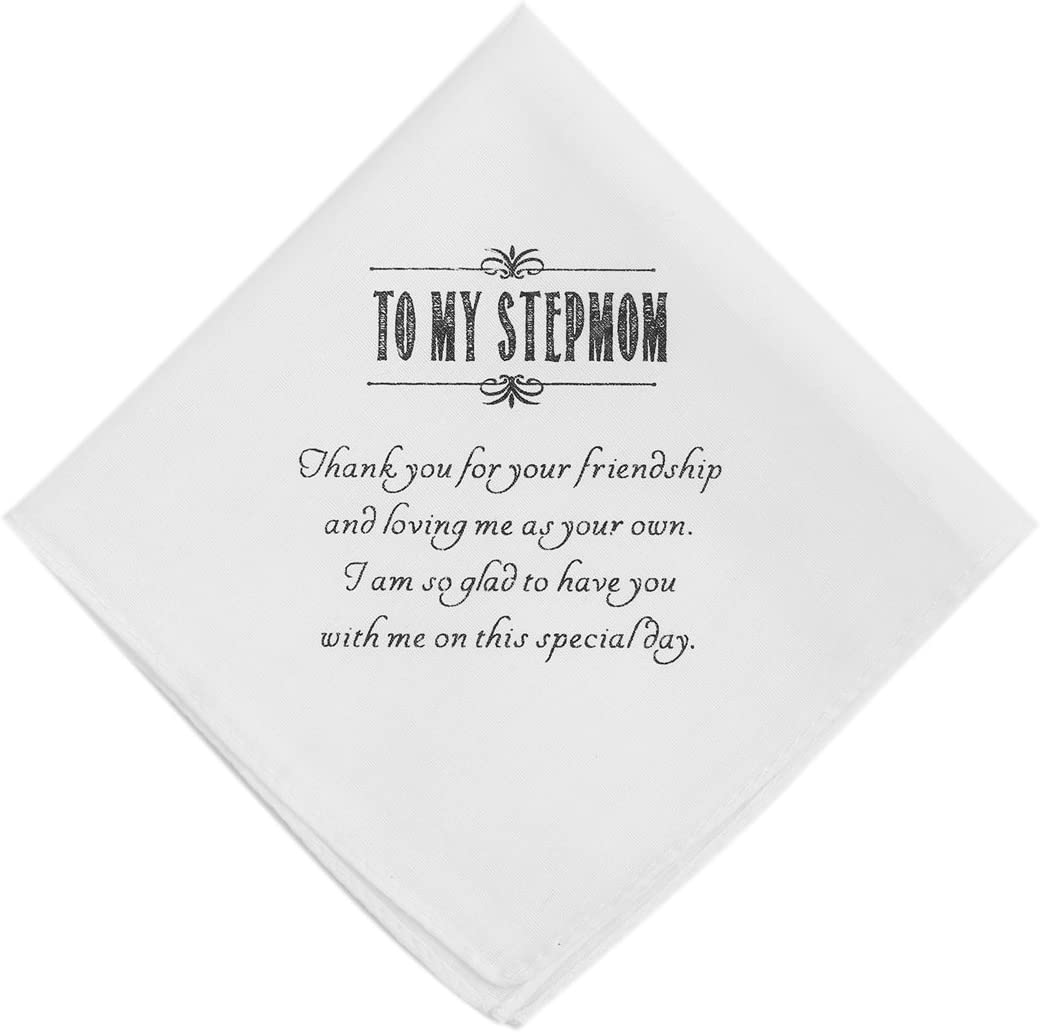 Wishprom To My Step Trust Hankie Mom Shipping included Cotton