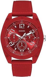 Guess dash Mens Analog Quartz Watch with Silicone bracelet W1256G4