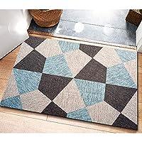 MDCG 北欧スタイル 戸口 玄関マット 寝室 滑り止めフットパッド カーペット (Color : G, Size : 100x160cm)