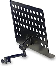 Stagg MUS-ARM 2 Large Music Stand with Attachable Holder Arm