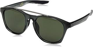 نظارة شمسية باطار كرينت من نايك، لون عدسات اخضر، اطار رصاصي/رمادي EV1057-003