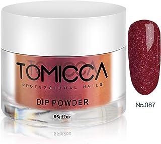 TOMICCA Nail Dipping Powder Dip Powder (Glitter Red)