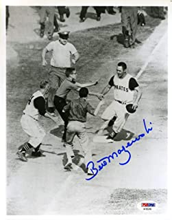 BILL MAZEROSKI PSA DNA Coa Autograph 8x10 Photo Hand Signed Authentic