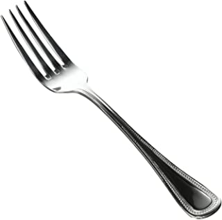 Winco Deluxe Pearl 12-Piece Table Fork Set, 18-8 Stainless Steel