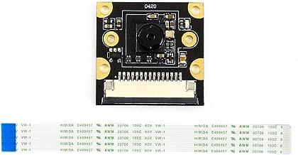 Waveshare IMX219-77 Camera 3280 × 2464 Resolution 8 Megapixels 77 Degree Angle of View IMX219 Sensor Support Jetson Nano Developer Kit Compute Module 3/3+