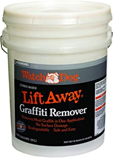 Dumond Chemicals, Inc. 8205 Watch Dog Lift Away Soy-Based Smooth Surface Graffiti Remover, 5 Gallon